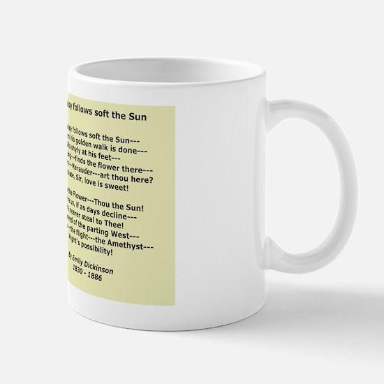 Emily Dickinson Poster, Daisy Wildflowe Mug