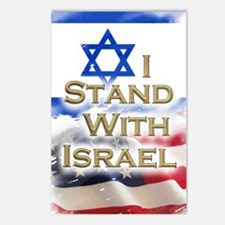 I stand with Israel 001 Postcards (Package of 8)