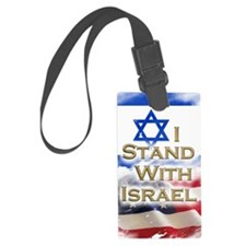 I stand with Israel 001 Luggage Tag