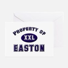 Property of easton Greeting Cards (Pk of 10)