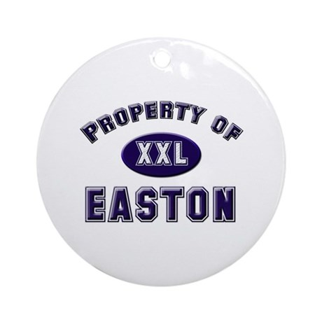 Property of easton Ornament (Round)