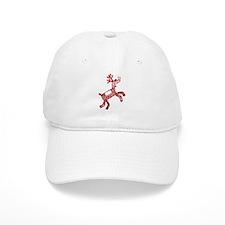 Reindeer Baseball Baseball Cap