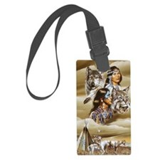 indian native americans 12 Luggage Tag