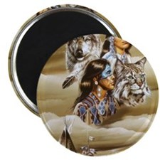 indian native americans 12 Magnet