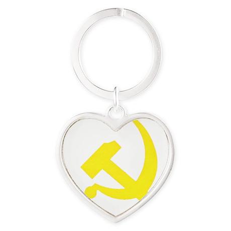 Copy of cccp Heart Keychain