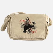 black 1911p Messenger Bag