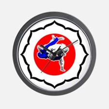 Judo_image 09-01 Wall Clock