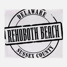Rehoboth Beach Title W Throw Blanket