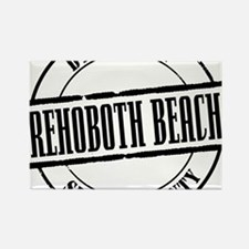 Rehoboth Beach Title W Rectangle Magnet