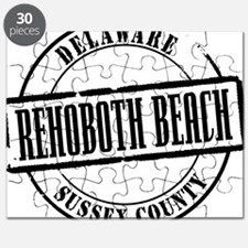 Rehoboth Beach Title W Puzzle