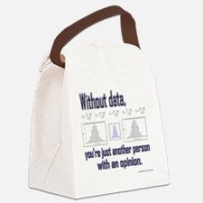 withoutdata_shirt Canvas Lunch Bag