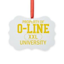 OLineU2 Ornament