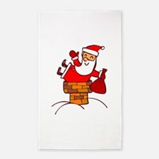 Santa 3'x5' Area Rug