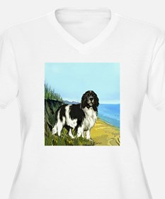 landseer on the b T-Shirt