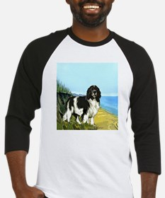 landseer on the beach Baseball Jersey