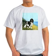 landseer on the beach T-Shirt