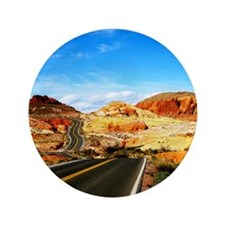 """Valley of Fire 3.5"""" Button"""