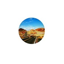 Valley of Fire Mini Button