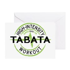TABATA 3 Greeting Card