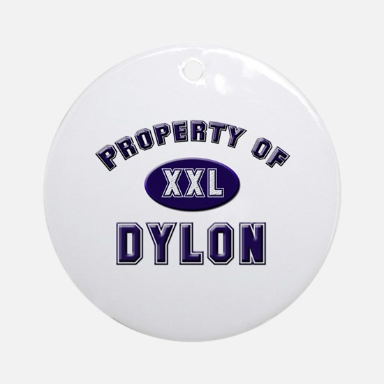 Property of dylon Ornament (Round)