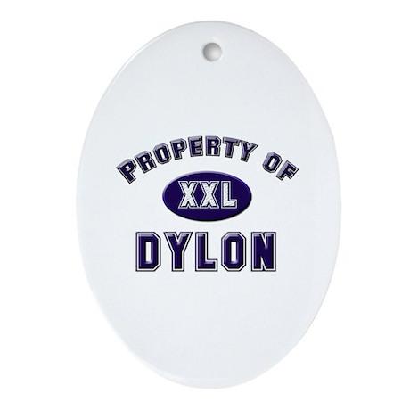 Property of dylon Oval Ornament