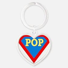 s pop Heart Keychain