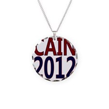 herman cain square 1 Necklace