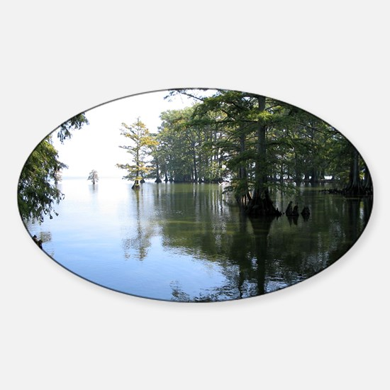 Reelfoot Reflection Sticker (Oval)
