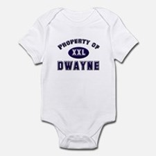 Property of dwayne Infant Bodysuit