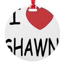 SHAWN Ornament