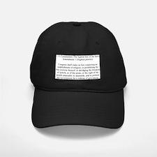 firstAmend2 Baseball Hat
