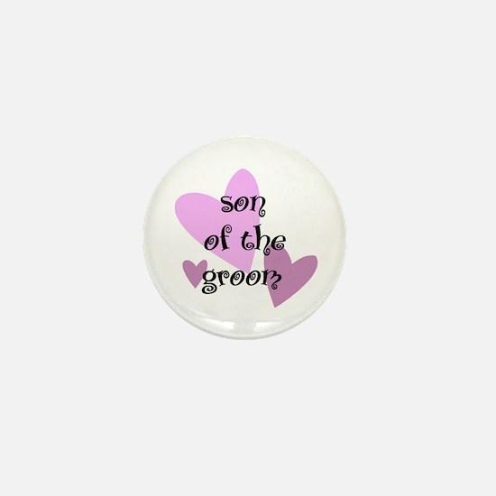 Son of the Groom Mini Button