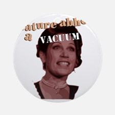 Michele Bachmann Vacuum Round Ornament