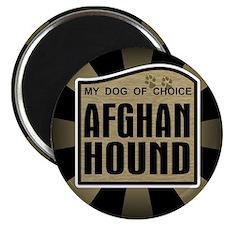 Afghan Hound Dog Choice Owner Magnet