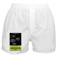 baby pictures of famous dictators min Boxer Shorts