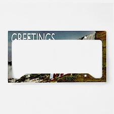 WONDERFALLS License Plate Holder