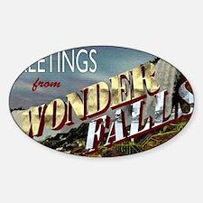 WONDERFALLS Sticker (Oval)