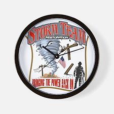 2011 Tornado Storm Cafe Press Wall Clock