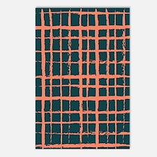 seaweed dark salmon f sta Postcards (Package of 8)