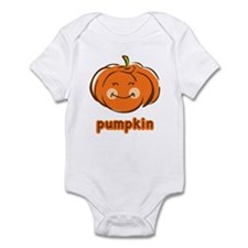 Smiley Pumpkin Infant Bodysuit