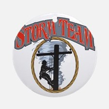 2011 Tornado Storm front Cafe Press Round Ornament