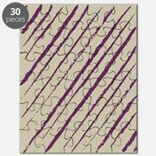 plum nougat f stadium_blankets Puzzle