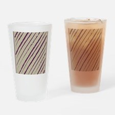 plum nougat f stadium_blankets Drinking Glass