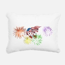 american lineman 1 Rectangular Canvas Pillow