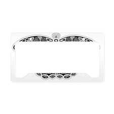 Celtic Moth License Plate Holder