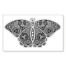 Celtic Moth Decal