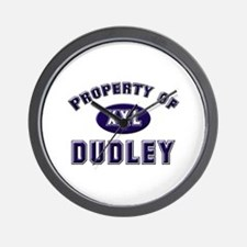 Property of dudley Wall Clock