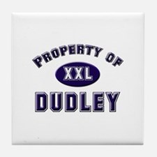 Property of dudley Tile Coaster