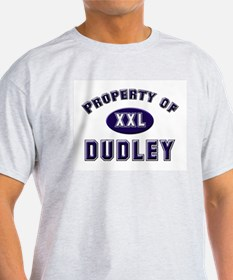 Property of dudley Ash Grey T-Shirt