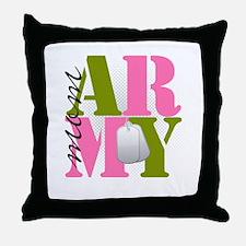 armymom Throw Pillow
